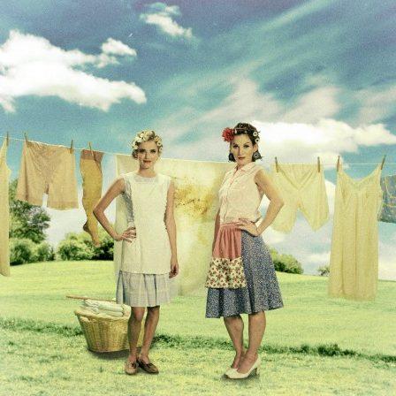Kostüm und Styling im 50er Jahre Stil für Film, Fernsehen und Werbung. Stylist: Tatjana Lüpsen